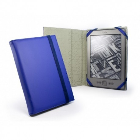 Tuff Luv Slim Book - color azul - funda para ereader