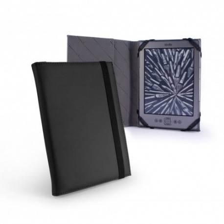 Tuff Luv Slim Book - color negro - funda para ereader